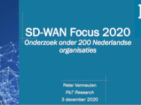 Software Defined Wide Area Networking aan begin van snelle groei
